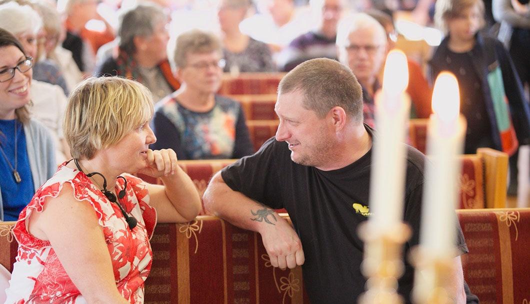 Om du bor i Mellanbygden så är du välkommen till vår kyrka