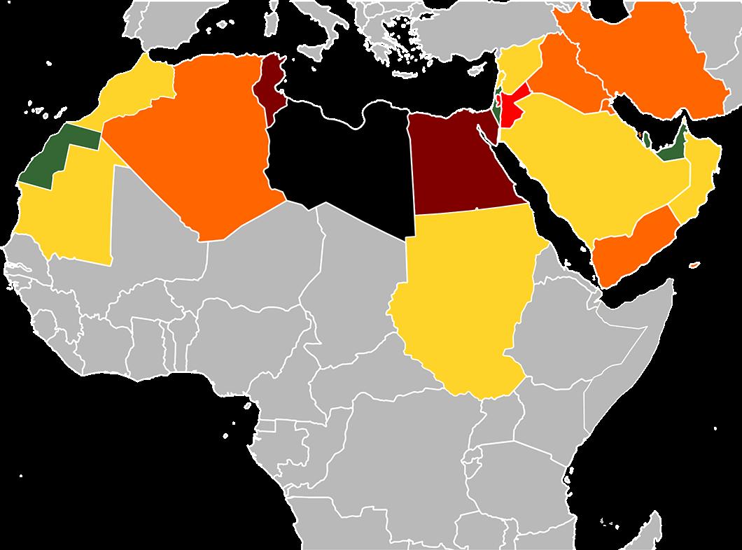 MÖNA - Mellanöstern och Nordafrika