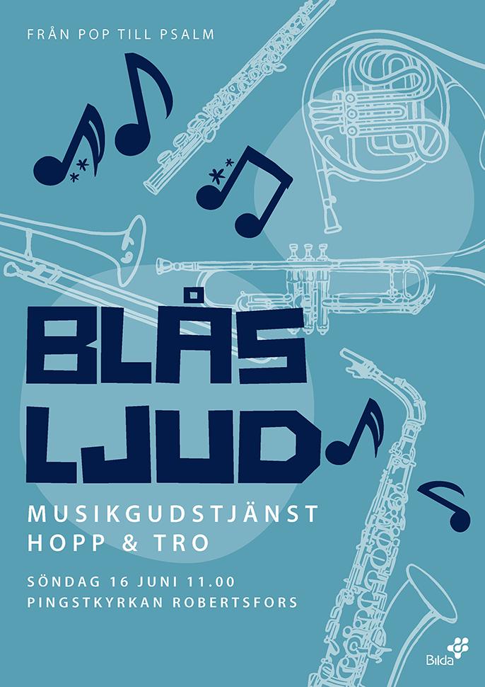 Musikgudstjänst med Blåsljud: Hopp och Tro