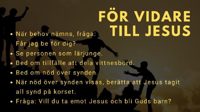 För vidare till Jesus