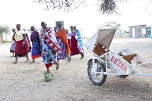 MC-ambulans för Burundi räddar liv