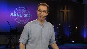 Niclas Strindell predikar på SÄND missionskonferens