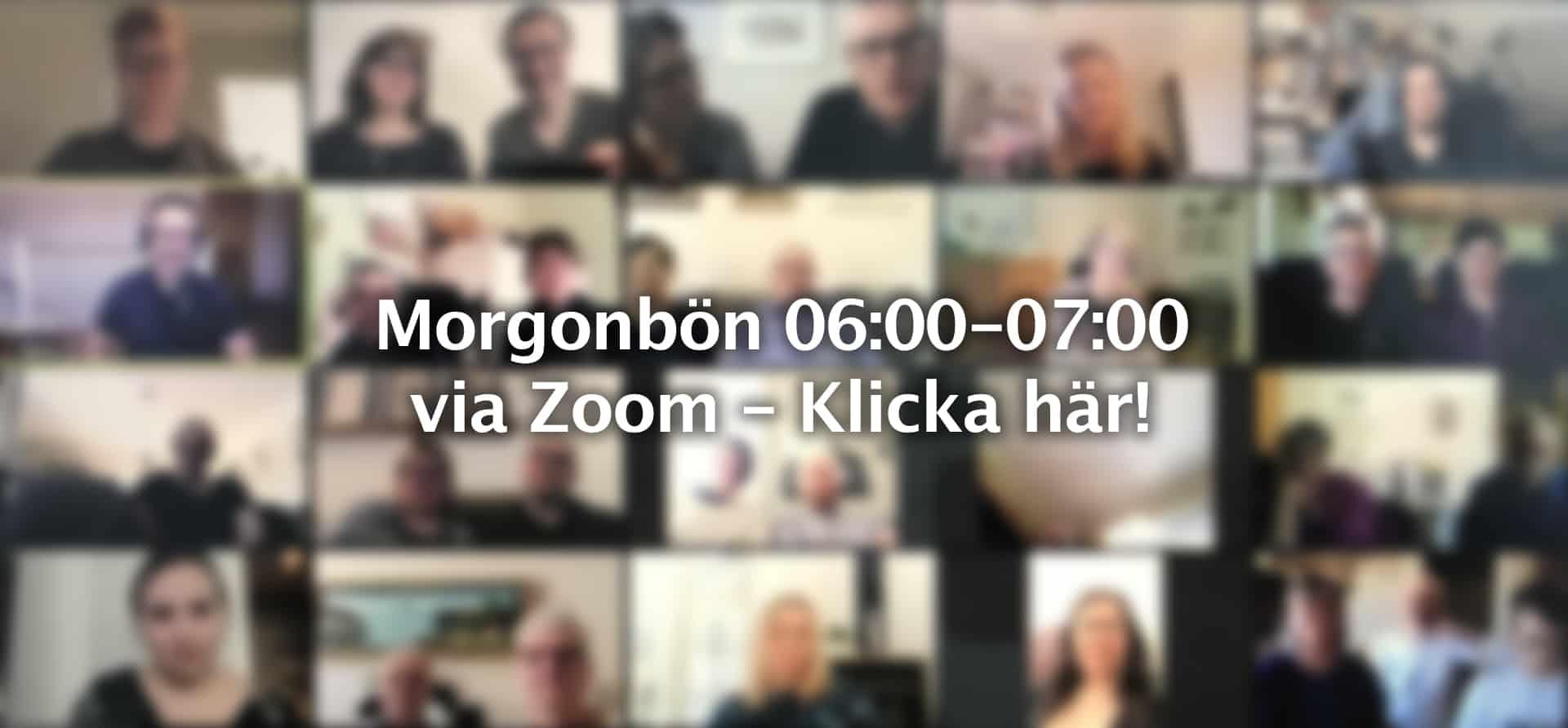 Zoom morgonbön