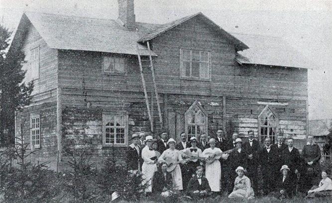Elimförsamlingen i Ånäset 1921